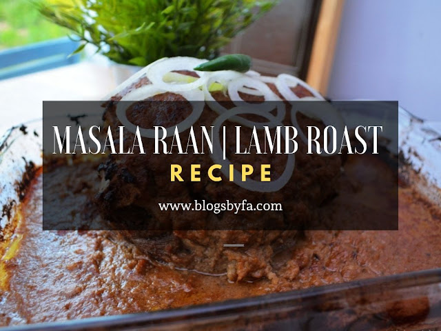 Masala Raan | Lamb Roast Recipe