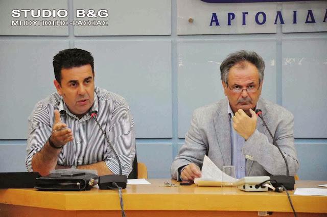 Δημοτικό Συμβούλιο στο Ναύπλιο με 27 θέματα στις 17 Σεπτεμβρίου