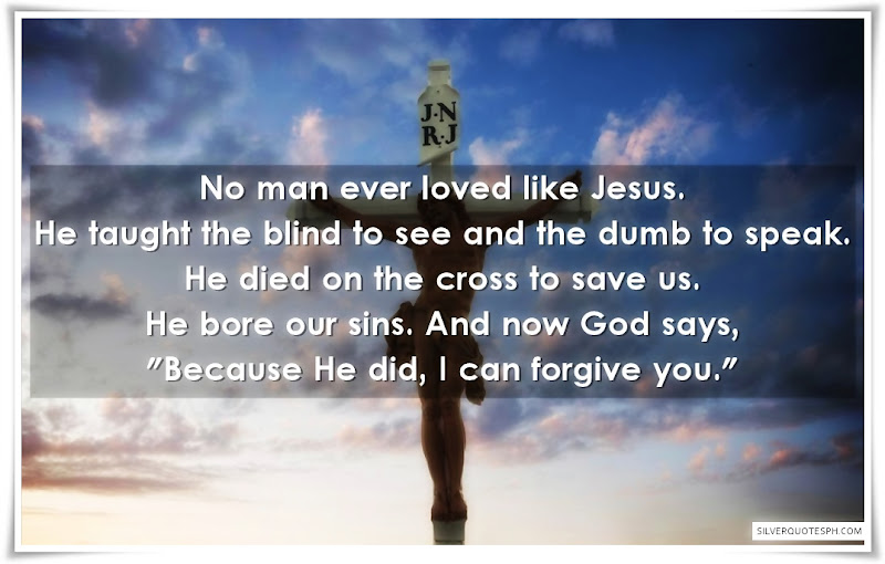 No Man Ever Loved Like Jesus