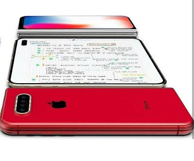 Render of Apple iPhone X Fold render leaked online