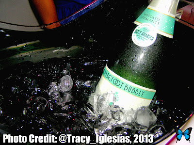 Barefoot Wine, Moscato Spumante, bubbly, #KBBlog5, New York City, Blogaversary Event