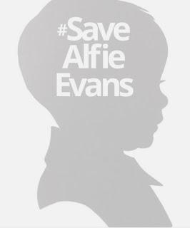 #SaveAlfieEvans