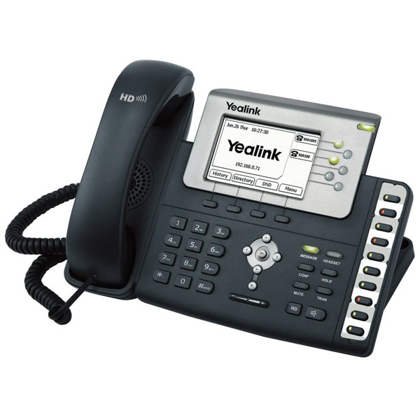 How to Configure a Yealink SIP Phone like the T26P | Dotcom Computers