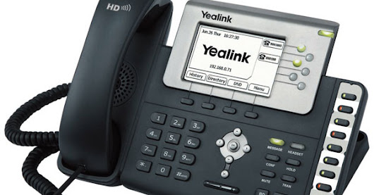 How to Configure a Yealink SIP Phone like the T26P