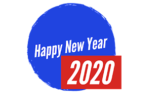 Happy New Year 2020 transparent png image free greetings