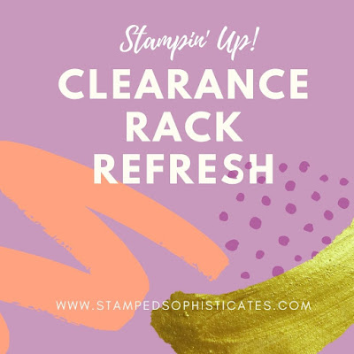 Stampin' Up! Clearance Rack Refresh Sale flyer