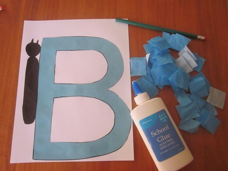 Playing To Learn: Letter B Butterfly Craft
