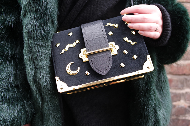 Blogger Prada Dupe - Velvet Star Bag