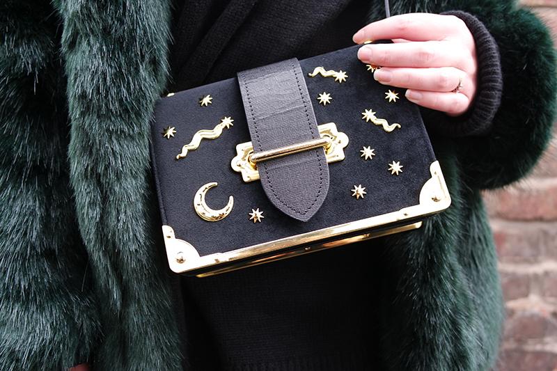 Blogger Prada Dupe - Velvet Star Bag