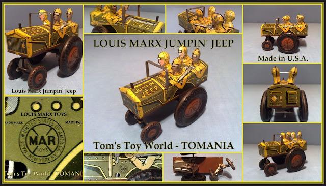TOM'S TOY & RADIO WORLD TOMANIA **: LOUIS MARX U S A