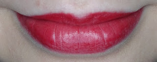 Yves Rocher Grand Rouge Lipstick in Rouge Vif lip swatch