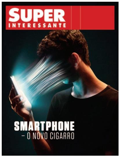 FUVEST 2021: Examine a capa e o texto extraídos de uma revista para responder à questão.