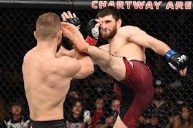 UFC Vegas 20: Adu Grapling, Fighter dari Kampung Khabib Masih Lebih Jago dari Musuhnya