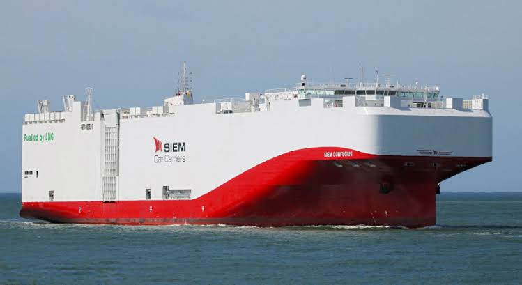 El segundo buque de GNL de Siem Carriers realiza su primer viaje para Volkswagen