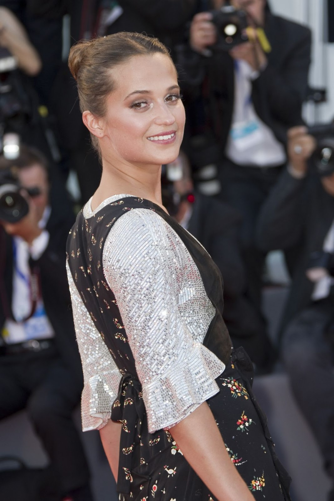 HQ Photos of Alicia Vikander at The Light Between Oceans Premiere at 73rd Venice Film Festival 2016