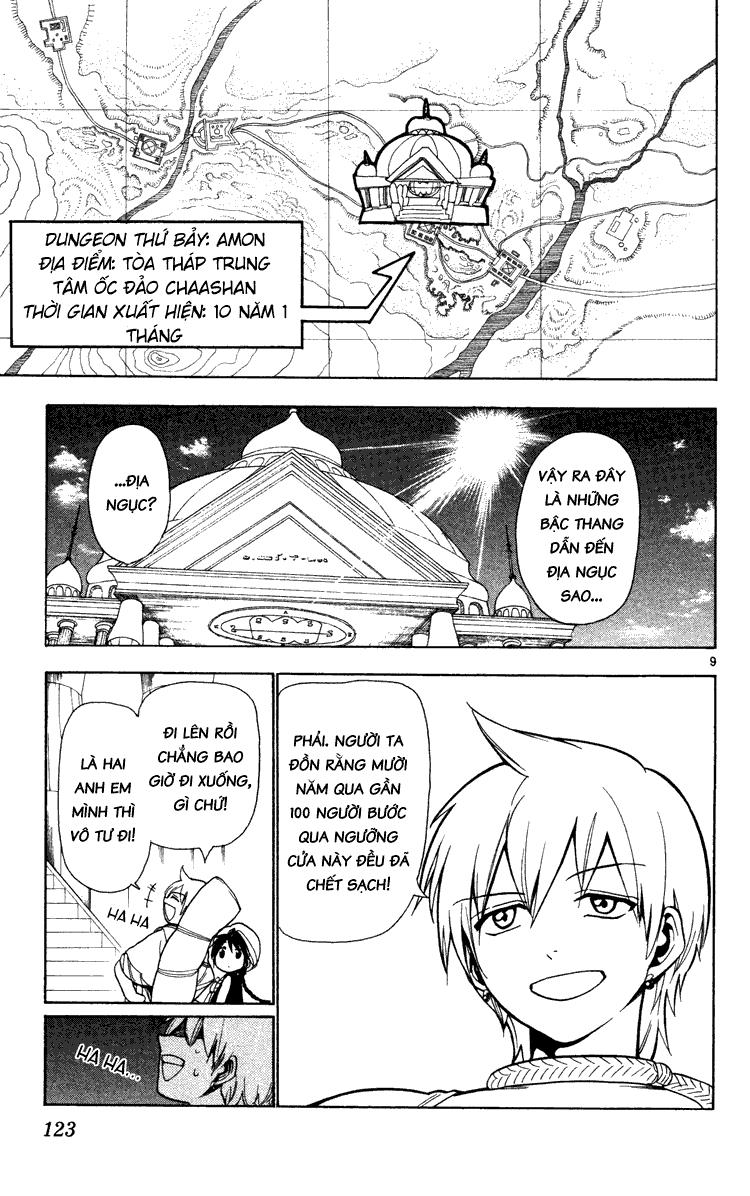 Magi The Labyrinth of magic chapter 4 trang 10