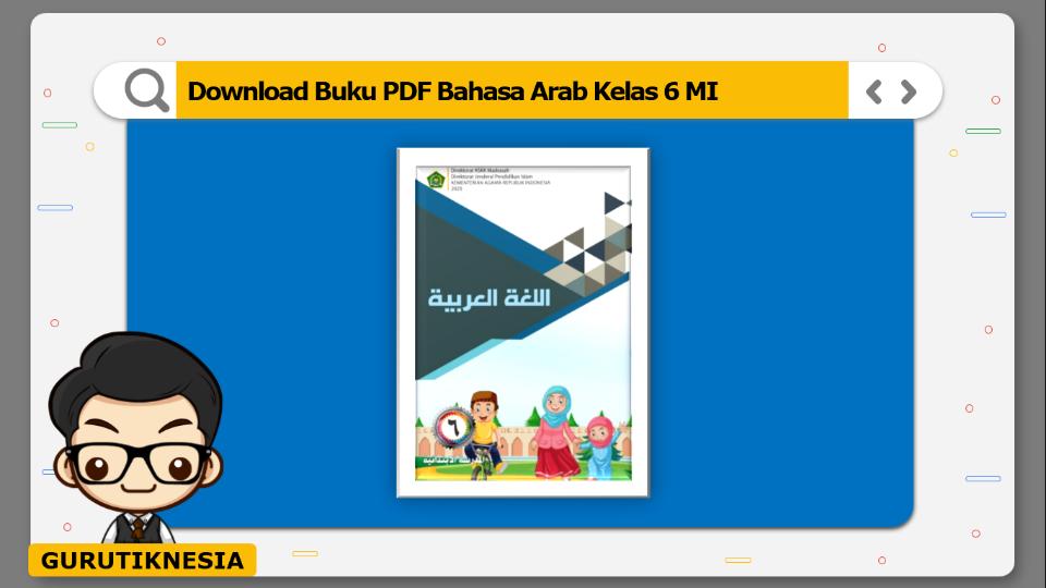 download buku pdf bahasa arab kelas 6 mi
