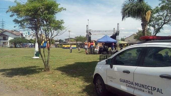 Guarda Municipal realiza prisão no Parcão em Cachoeirinha