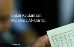 Tak Sempat Berdo'a Karena Disibukkan Dengan Al-Qur'an