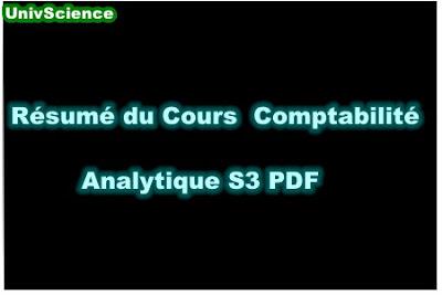 Résumé Du Cours Comptabilité Analytique S3 PDF.