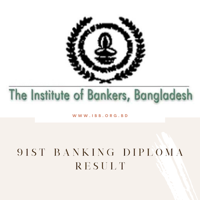91st Banking Diploma Result Published