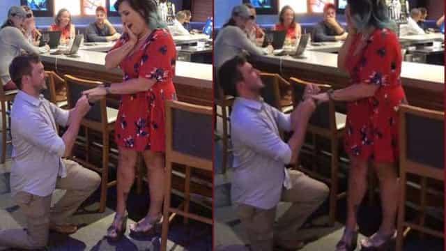 Casal finge pedidos de casamento para conseguir beber sem pagar em bares