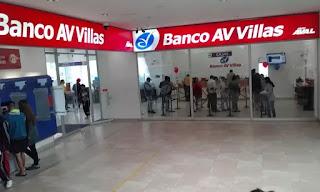 Banco Av Villas en Palmira