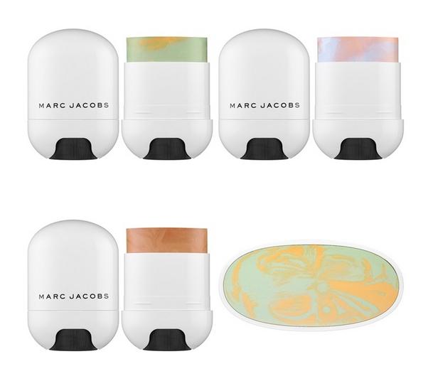 Nouveau correcteur Cover(t) Stick Color Corrector - Marc Jacobs - Blog beauté Les Mousquetettes