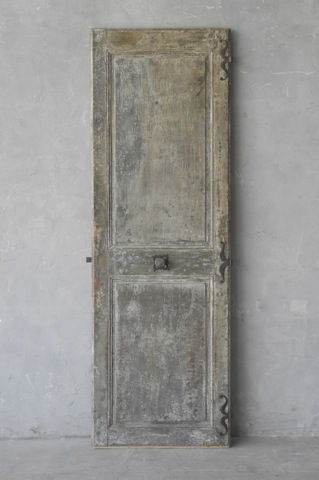 19th Century Door from a Provencal Maison de Ville via Chateau Domingue as seen on linenandlavender.net - http://www.linenandlavender.net/p/blog-page_9.html
