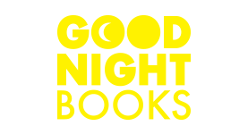 Good night books logo, good night books, kids books, preschool books