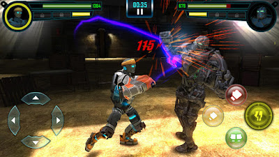 لعبة Real Steel HD مهكرة مدفوعة, تحميل APK Real Steel HD, لعبة Real Steel HD مهكرة جاهزة للاندرويد