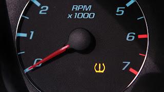 avertissement de pression des pneus