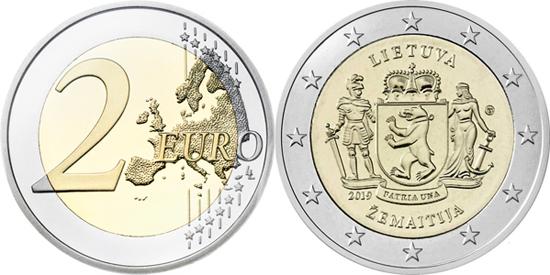 Lithuania 2 euro 2019 - Samogitia Žemaitija