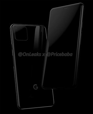 New Phone Google Pixel 4 Renders showing a new infusion online, mobile news