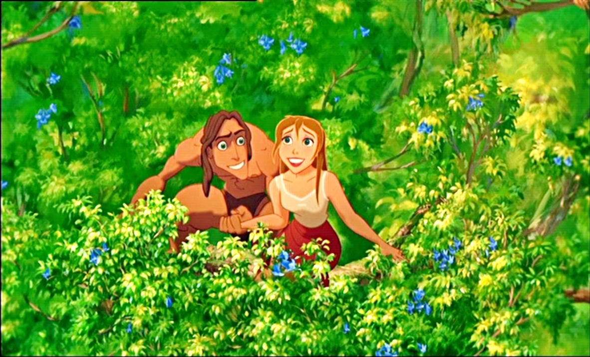 Watched Tarzan again today. Last time I watched it, was back in 2nd