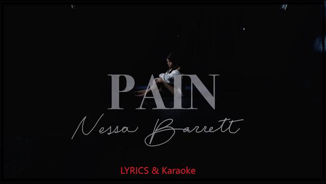 Pain Lyrics By Nessa Barrett