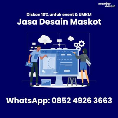 Jasa Desain Maskot