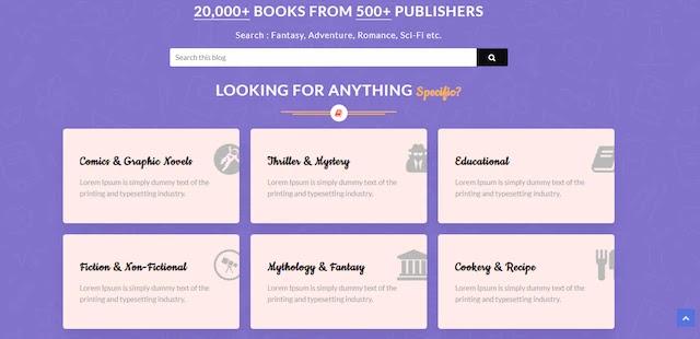 أفضل قالب بلوجر لبيع الكتب و المنتجات الرقمية Digital Products
