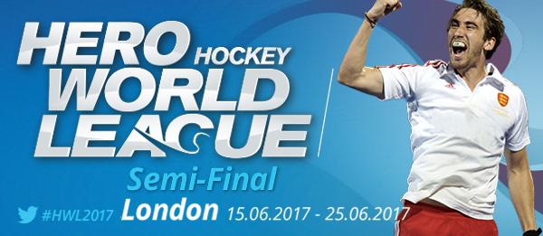 Keputusan Liga Hoki Dunia London 2017 Separuh Akhir