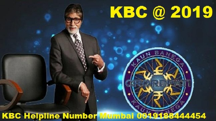 kbc helpline number mumbai 0019188444454 for online registration