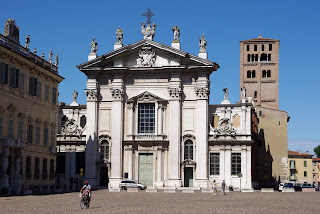 The Cathedral of St Peter in Mantua