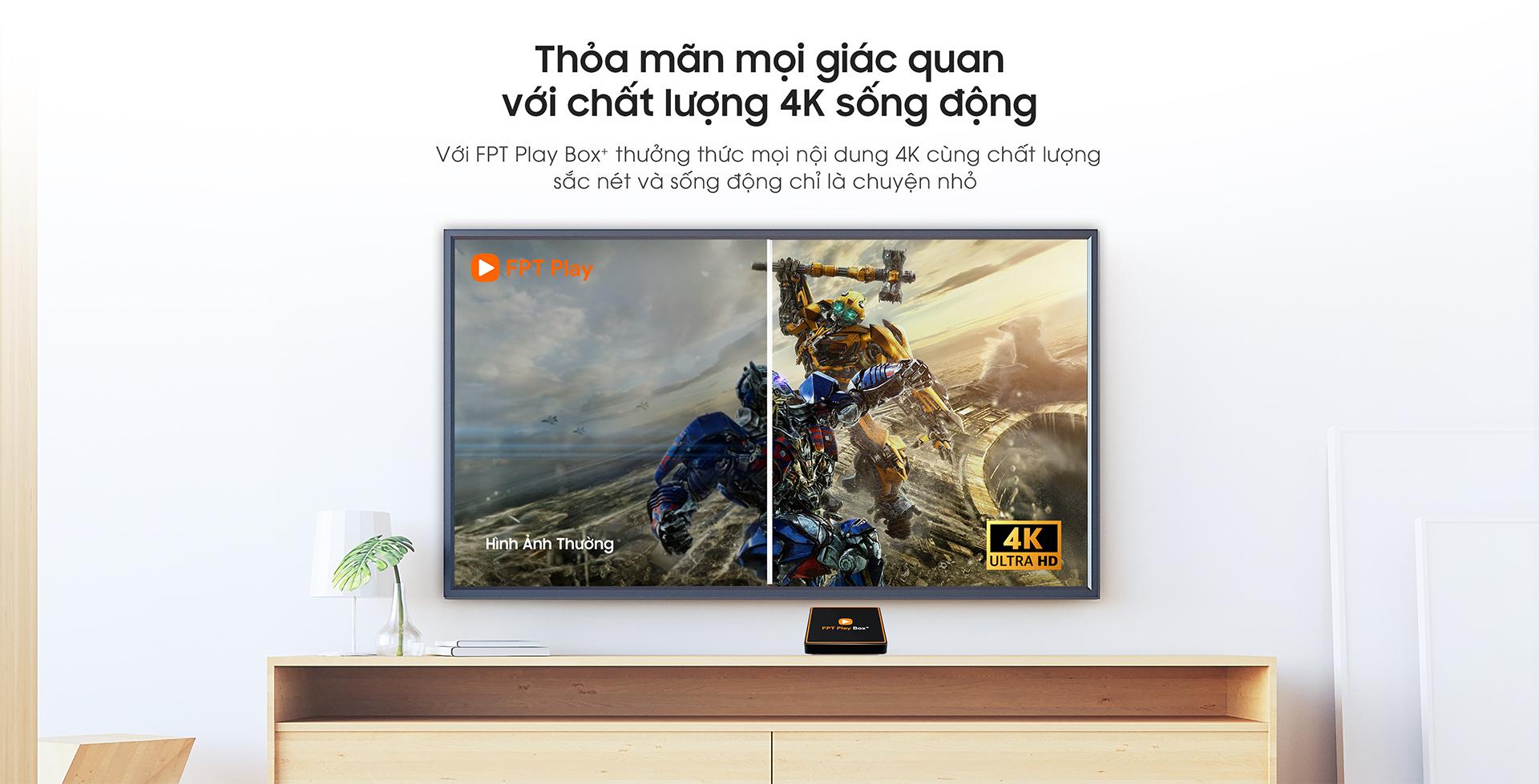 Kho phim 4K trên FPT Play BOX