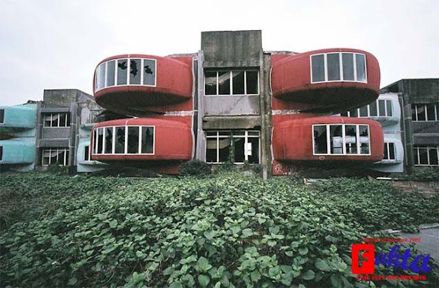 kota san zhi di taiwan kota mati yang banyak di huni oleh hantu penasaran