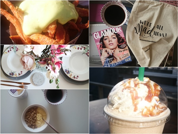 Sunny Sunday #93 - www.josieslittlewonderland.de - wochenrückblick, kolumne, alltagsgeplapper, food, geschirr, starbucks frappucino, healthy food