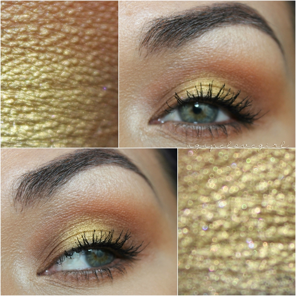 Agape Love Designs Easy Gold Halo Eye Mba Cosmetics Vintage