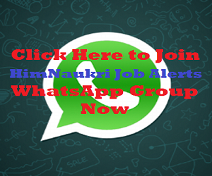 Join our WhatsApp Job Alert Group