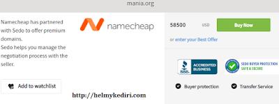 Menjual nama domain2