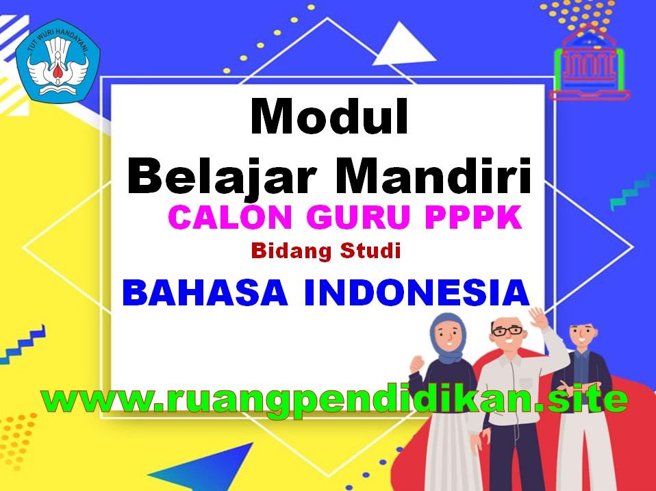 Modul Belajar Mandiri Bahasa Indonesia
