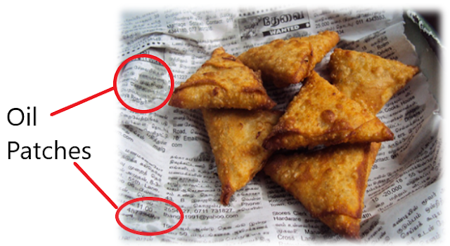 Fat Testing, NCERT Class 6 Science Chapter 2 Components of Foods