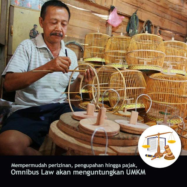 Omnibus Law Akan Menguntungkan UMKM